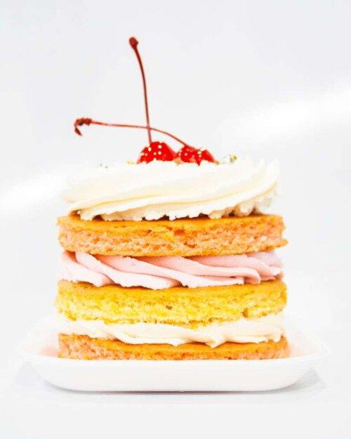 Mini cake de limón